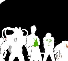 Villains in the shadow Sticker