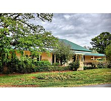 Old Home at Forest Reefs NSW Photographic Print