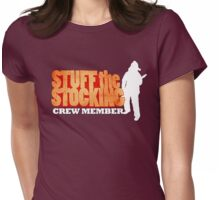 Stuff The Stocking - Crew Womens Fitted T-Shirt
