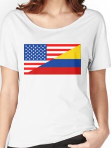usa colombia Women's Relaxed Fit T-Shirt