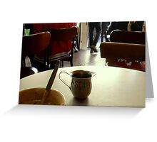 Cafe's Culture Greeting Card