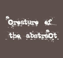Creature of the Abstract One Piece - Short Sleeve
