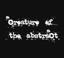 Creature of the Abstract Kids Tee