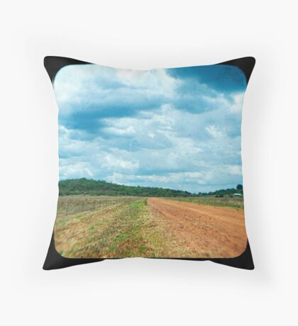 Beatrice Farm Throw Pillow