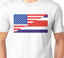 usa costa rica Unisex T-Shirt