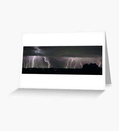 Severe Thunderstorm II Greeting Card