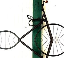 Abstract in Geometric Velocipede  by ArtbyDigman