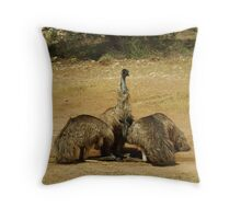The Water Hole 2 Throw Pillow