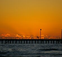 Silhouette at Sunset by Peter Hall
