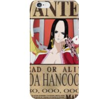 Wanted Boa Hancock - One Piece iPhone Case/Skin
