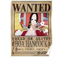 Wanted Boa Hancock - One Piece Poster