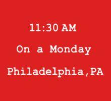On a monday. Philadelphia,PA Kids Clothes