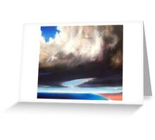 Now and that other now, then (oils) Greeting Card
