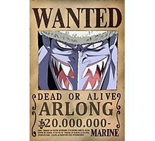 Wanted Arlong - One Piece Photographic Print