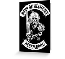 Sons of Alchemy Greeting Card