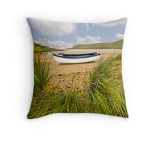 Calgary Bay - Isle Of Mull Throw Pillow
