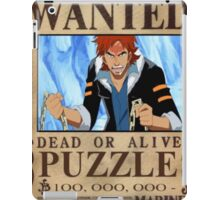 Wanted Puzzle - One Piece iPad Case/Skin