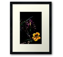 Bright Flower Framed Print