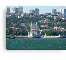 Belém Tower. Restelo Canvas Print