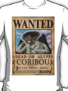 Wanted Coribou - One Piece T-Shirt