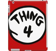 Thing 4 iPad Case/Skin