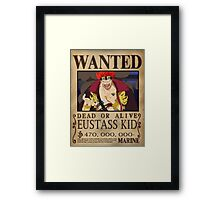 Wanted Kid - One Piece Framed Print