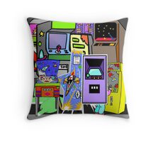 Arcade Throw Pillow