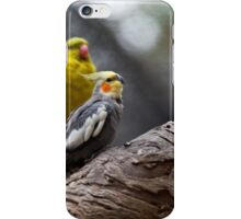 Cockatiels iPhone Case/Skin