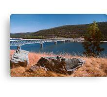 Lake Koocanusa Canvas Print
