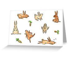 Bunnies! Greeting Card