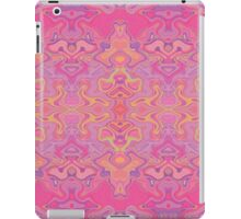 Mad pink marble 1 iPad Case/Skin