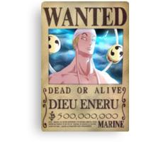 Wanted Eneru - One Piece Canvas Print
