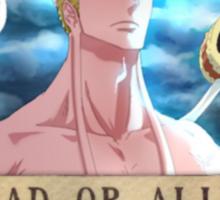 Wanted Eneru - One Piece Sticker