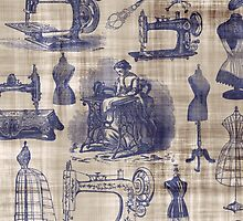 Vintage Sewing Toile by BonniePhantasm