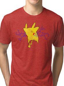 PIKA-THUNDER Tri-blend T-Shirt