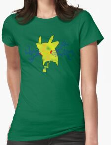 PIKA-THUNDER Womens Fitted T-Shirt