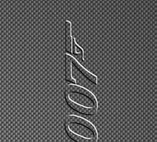 James Bond 007 iphone cased carbon fiber by ALIANATOR
