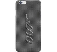 James Bond 007  carbon fiber iPhone Case/Skin