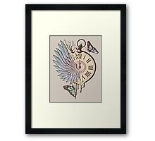 Le Temps Passe Vite (Time Flies) Framed Print