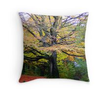 Autum Colours Throw Pillow