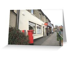 Post Office and Post Box Greeting Card