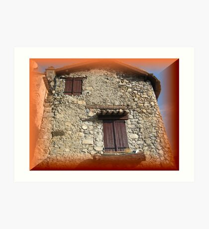 Magnificent old house Art Print