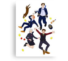 Cabin Pressure: MJN Air Crew Canvas Print