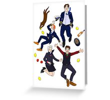 Cabin Pressure: MJN Air Crew Greeting Card