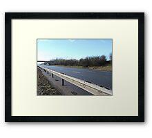 M40 Closed Framed Print