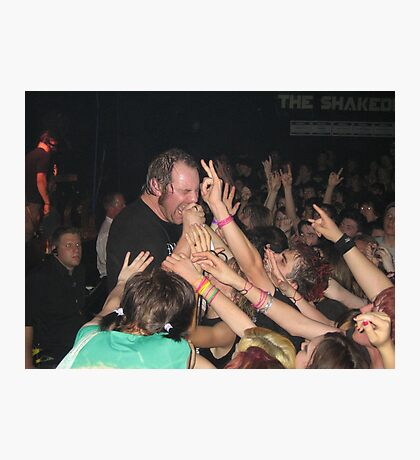 36 Crazyfists In The Crowd Photographic Print