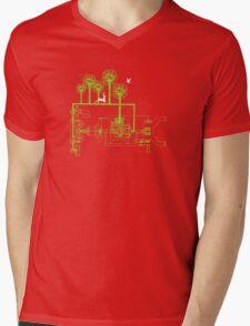exchangeland Mens V-Neck T-Shirt