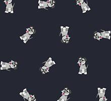 Mini Schnauzer Dog Pattern by nelson92