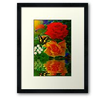 ~ ROSES FOR YOU ~ Framed Print