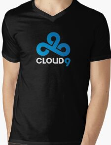 Cloud 9 Mens V-Neck T-Shirt